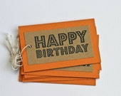 Birthday Gift Tags Party Favor Tags