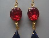 Fit for a Queen Rhinestone Earrings