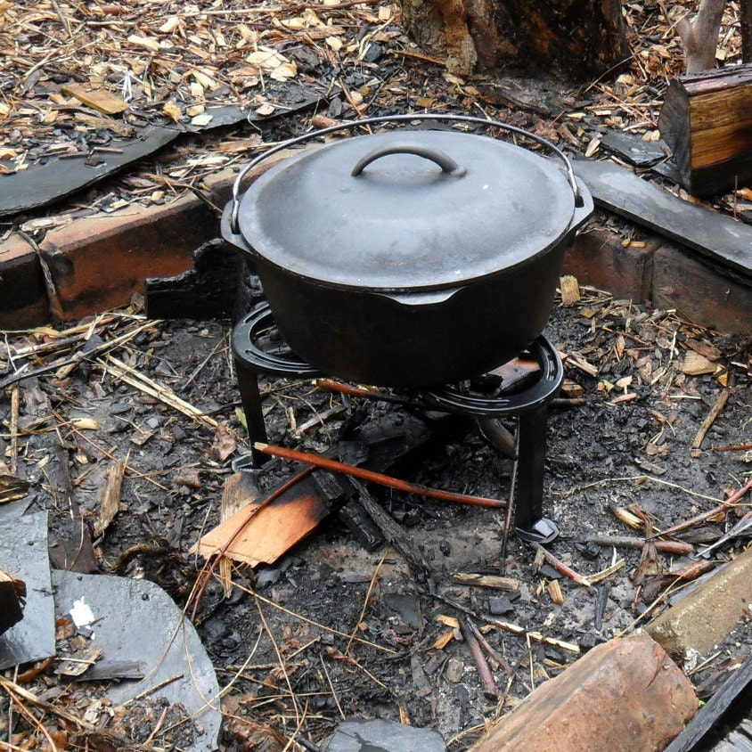 Campfire Pot Stand 3 Legged Stand For Dutch Ovens & Camp
