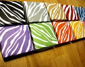 Zebra Rainbow Origami Decorative Box Set of 10