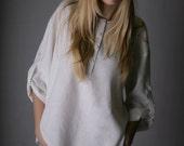 Oversized Pure Linen Shirt for Woman