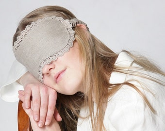 Pure Linen Sleep Eye Mask