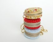 Macaroon Coin or Jewelry Case (Choose 1 from 5 Colors)
