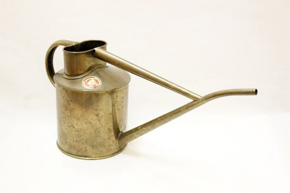 Vintage Copper Watering Can by HAWS Made in England