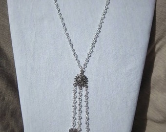 SALE Silver necklace-Hope with all my hearts, further sale reduction.