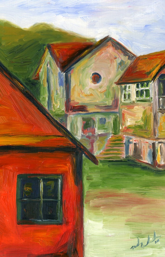 Orange House, Romania - Print