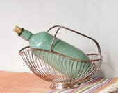 Retro Vintage Wine Bottle - Hide the Box - Serve in Style