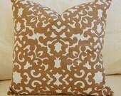 Designer  Waverly Garden Gate Trellis  20 X 20 Pillow Cover