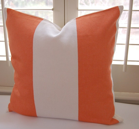 Decorative Pillow Covers 22 X 22 : Decorative Pillow Cover / 22 X 22 / Striped