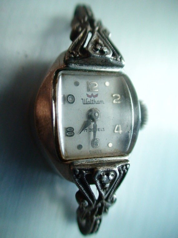 vintage wind up waltham swiss 10k gold rgp real