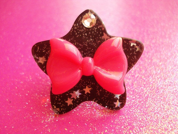 Starry Bow Ring
