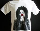 Bjork Retro Indie Punk Rock White Rock Men T-Shirt Size M