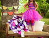 Cheshire Cat Couture Crochet Tutu Dress-Tail/Accessories NOT included