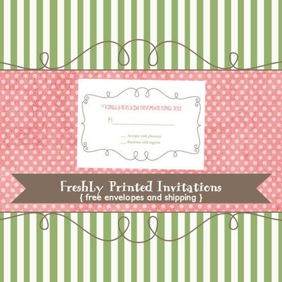 Reply/RSVP Card or Insert to match any design, printable digital file