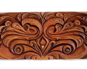Symbol- woodcarved handmade wall decor