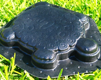 Turtle or Tortoise Stepping Stone Mold ABS Plastic Mold Concrete Cement Plaster New