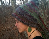 Hand Knit Winter Wizard Hat MTO you choose colors