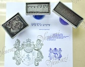 Customized Logo Pre Inked Stamp - Address OR Signature OR Own Designed Logo