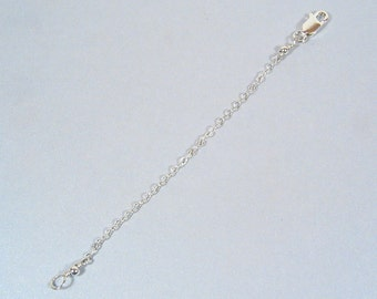 6 Inch Necklace Extender - Sterling Silver