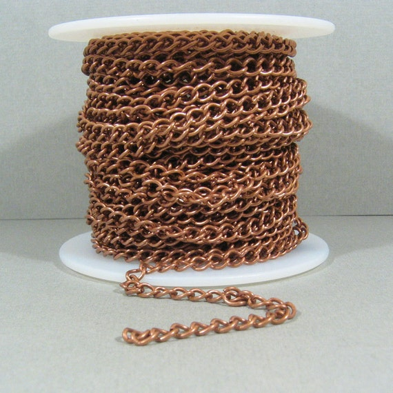 Curb Chain - Antique Copper - CH6