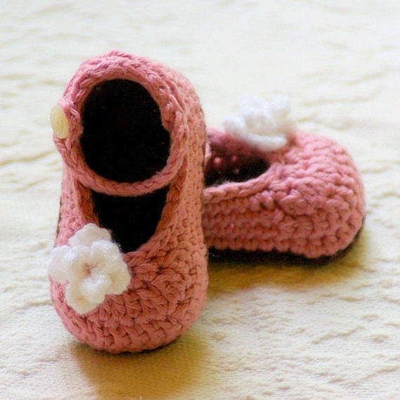 Free Crochet Pattern For Baby Shoe Sole : CROCHET PATTERN 100 Baby Shoe Crochet PATTERN Instant