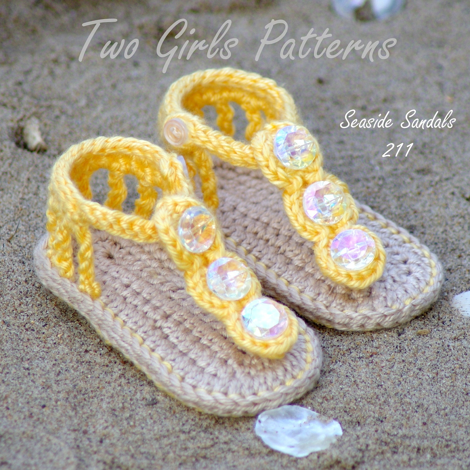 Free Crochet Pattern For Baby Summer Sandals : Crochet Baby Pattern Sandals Free barefoot sandal pattern