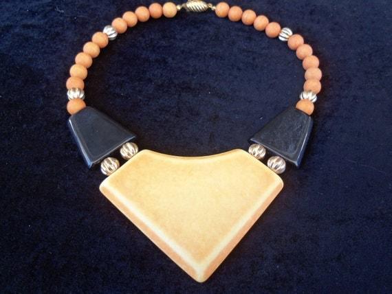 1980's Vintage Chunky Necklace