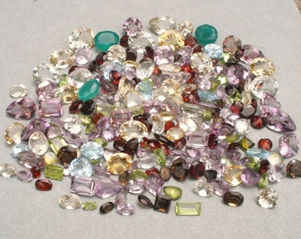 Over 200 Carats of Loose Natural Gemstone Mix