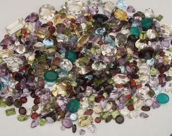Over 500 Carats of Loose Natural Gemstone Mix