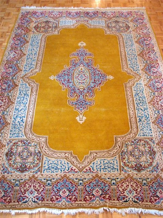 Persian Carpet - Wool Oriental Carpet - Persian Rug - Authentic Hand Knotted