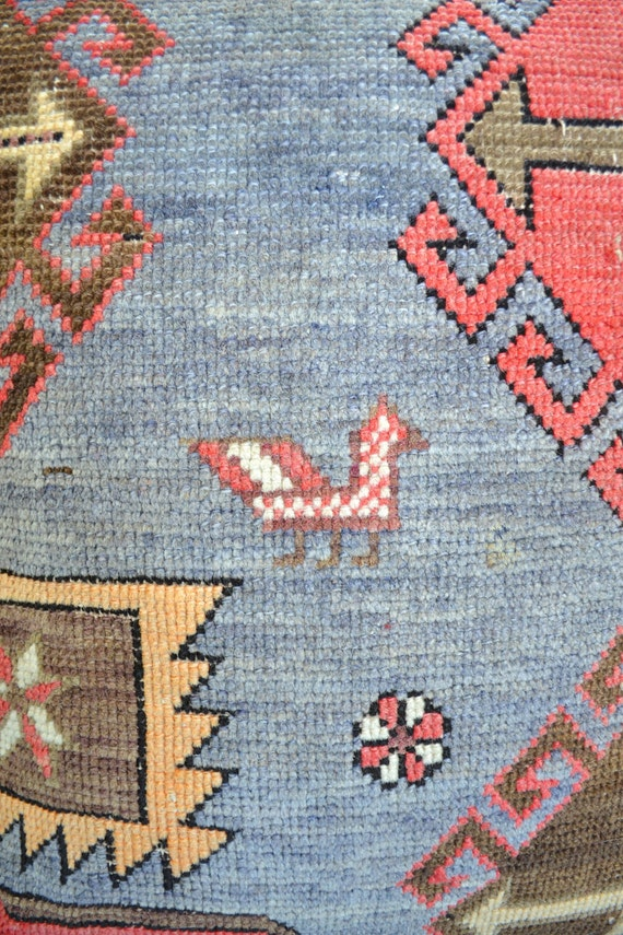Kazak Kilim Pillow Carpet Pillow Kilim Cushion Oriental