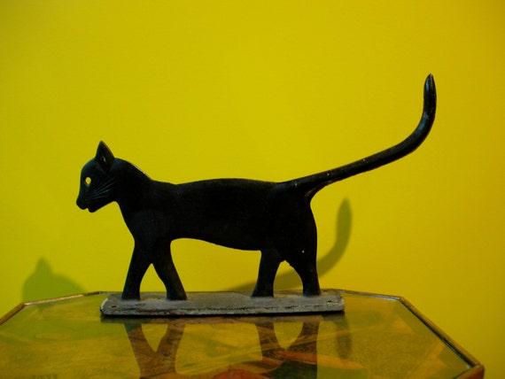 Black Cat Boot Scraper