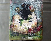 the matchmaker - whimsical sheep painting (from bless ewe)