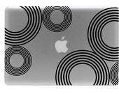 Fun Circles Macbook Decal / Macbook Sticker / Laptop Decal