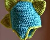 Custom made Dino Hat - any color any  size