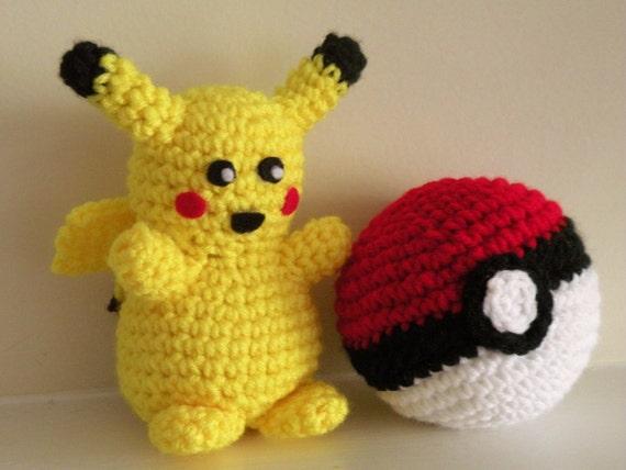 PATTERN Pikachu Crochet Plush Inspired by Pokemon