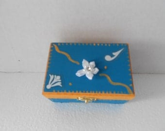 Small Jewelry Keepsake Box