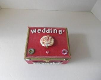 All Dazzled Small Wedding Memory Box