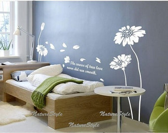 Beautiful sunflowers -Vinyl Wall Decal,Sticker,Nature Design