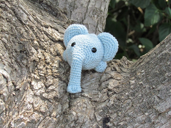 Easy Crocheted elephant toy Pattern Hand Knit PDF Pattern