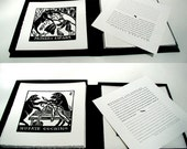 "Clam Shell Box - Suite of Relief Prints ""El Mundo al Revés"" (The World Upside Down)"