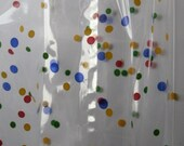 """10 Printed MORE DOTS PRIMARY Cello Bags (4"""" x 2-1/2"""" x 9-1/2"""")"""