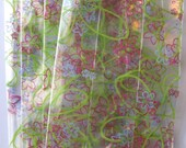 """25 Printed SUMMER BLOOM Cello Bags (3-1/2"""" x 2"""" x 7-1/2"""")"""