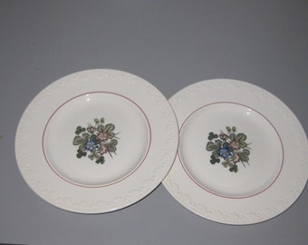 Vintage Wedgwood Pembroke Pattern Salad Plates