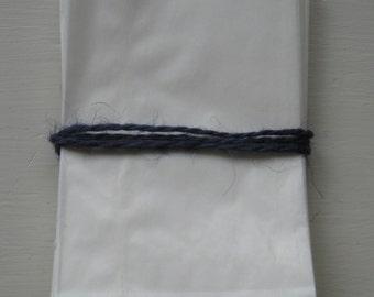 "Set Of 50 Small B 1 oz. WHITE GLASSINE Paper BAGS (2.75"" x 4.25"")"