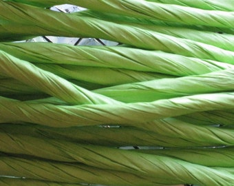 10 Yards of Lime Twisted Paper Cord/Ribbon