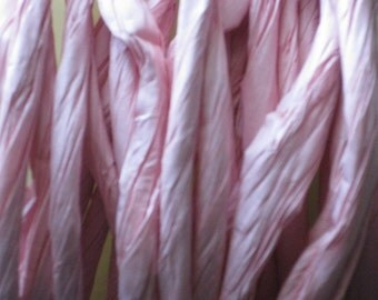 10 Yards of Pink Twisted Paper Cord/Ribbon