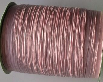 100 Yards of Pink PAPER Raffia