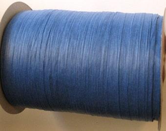 100 Yards of Royal Blue Raffia