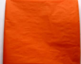"50 Sheets of Orange Tissue Paper (20"" x 26"")"